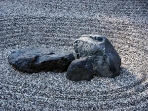 jap rock garden